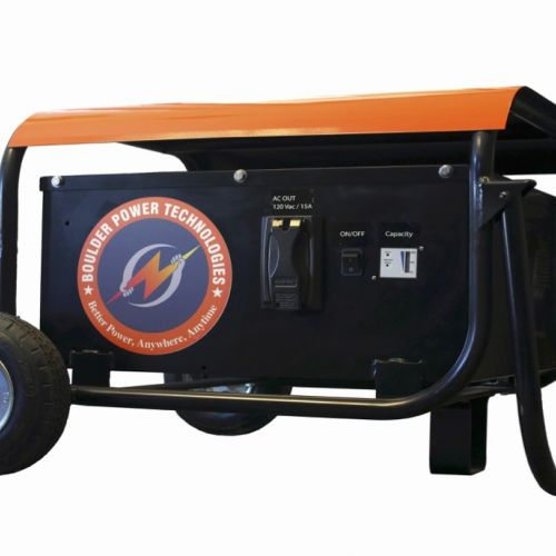 The Battery-Powered Mobile Generator, Courtesy of Boulder