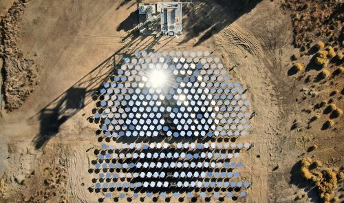 photo of CSP Startup Heliogen Cranks Solar Thermal Up to 1,000 Degrees Celsius image
