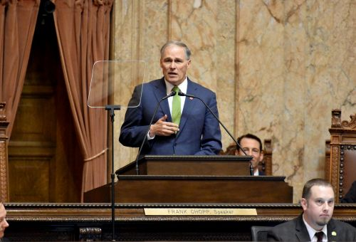 Inslee Launches National Climate Plan, Inspired by Recent Success in Washington State