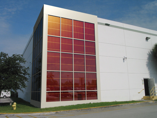 archafter Solar Curtain Wall by Konarka